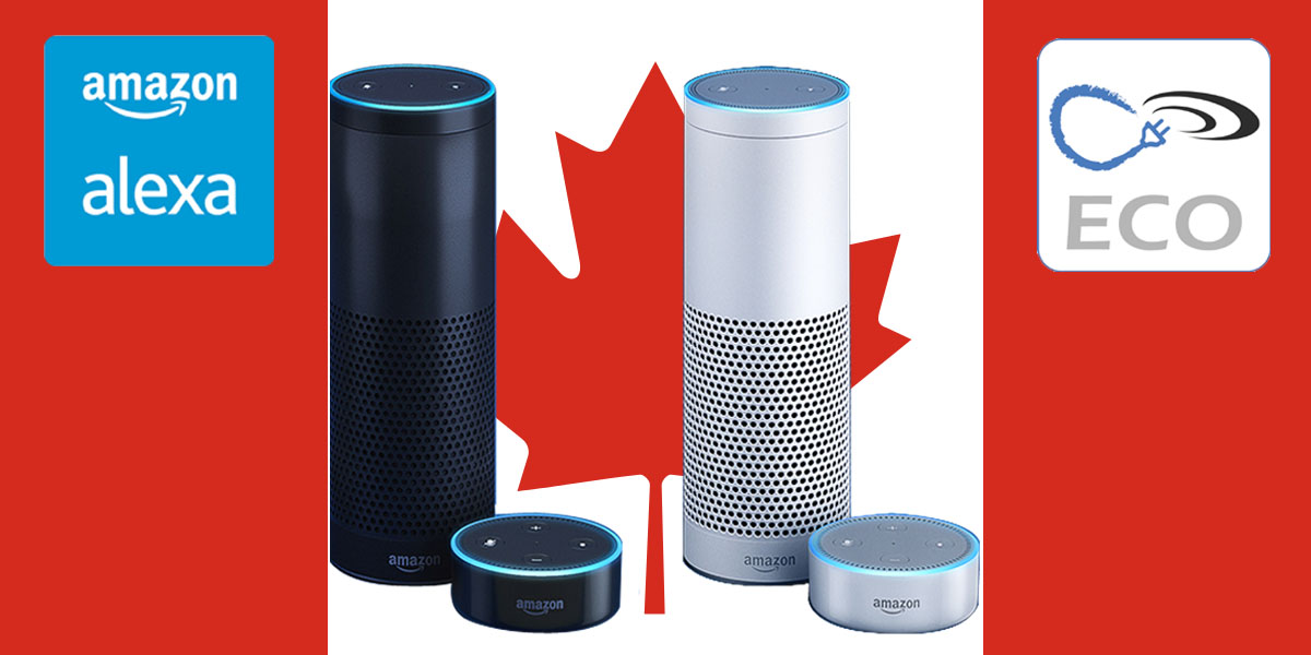ECO Plugs can support Alexa in Canada