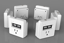 New Product Wi-Fi Switch with 2 USB charging